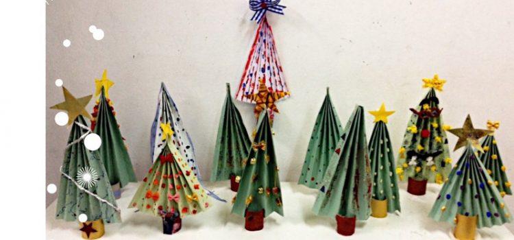 Χριστουγεννιάτικες δημιουργίες την ειδικότητα Βρεφονηπιοκόμων