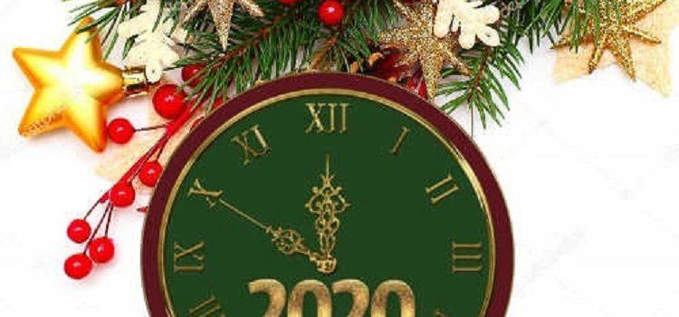 Ευχές για το νέο έτος 2020!